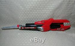 Vintage MMPRl Mighty Morphin Power Rangers Gun Sword Red Blaster Jason Cosplay