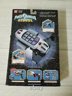Vintage Power Rangers Light Speed Rescue Battle Booster Morpher With Box Cosplay