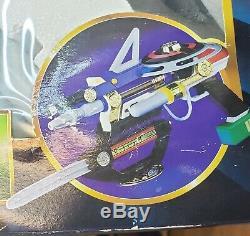 Vintage Power Rangers Zeo 7-in-1 Blaster Weapon Set Toy Cosplay Bandai 1996 MMPR