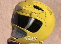 Yellow Power Ranger Helmet Cosplay
