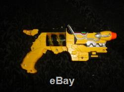 Yellow Power Rangers Deluxe Dino Charge Morpher Cosplay Gun FREE SHIPPING