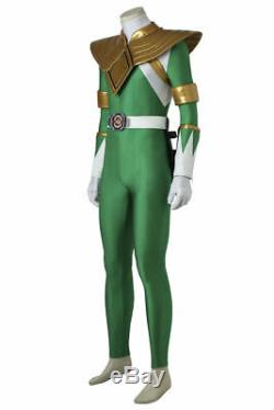 ZYURANGER Cosplay Jumpsuit Mighty Morphin Power Rangers Halloween Outfits