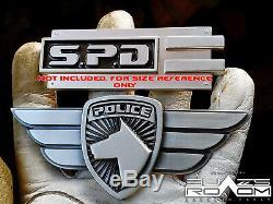 Zord Pilot solid metal Academy Power Rangers SPD Badge cosplay prop replica